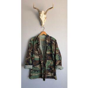 Camo Military Utility Coat